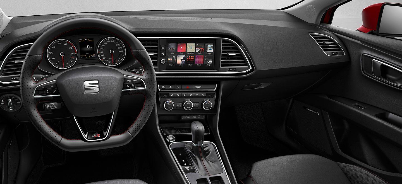 Modigt og yndefuldt bildesign seat leon 5 d rs for Interior seat leon